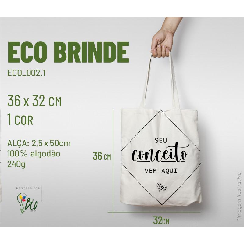 Ecobag Brinde 32x36, 1 cor