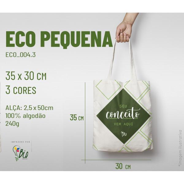 Ecobag Pequena 30x35, 3 cores