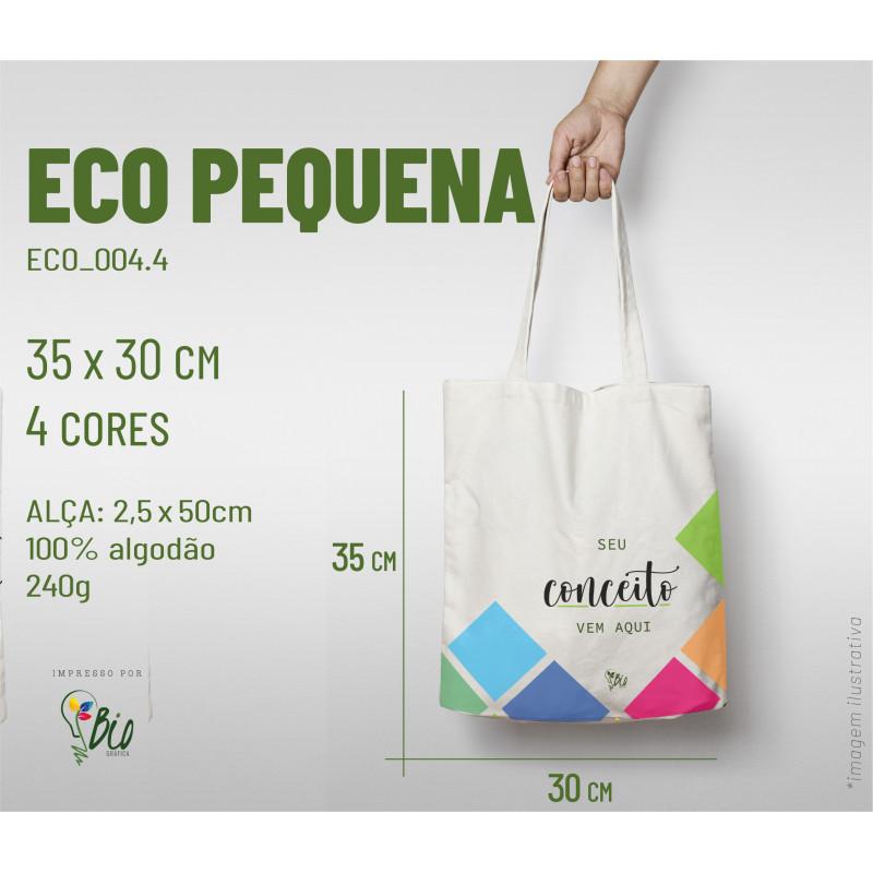 Ecobag Pequena 30x35, 4 cores