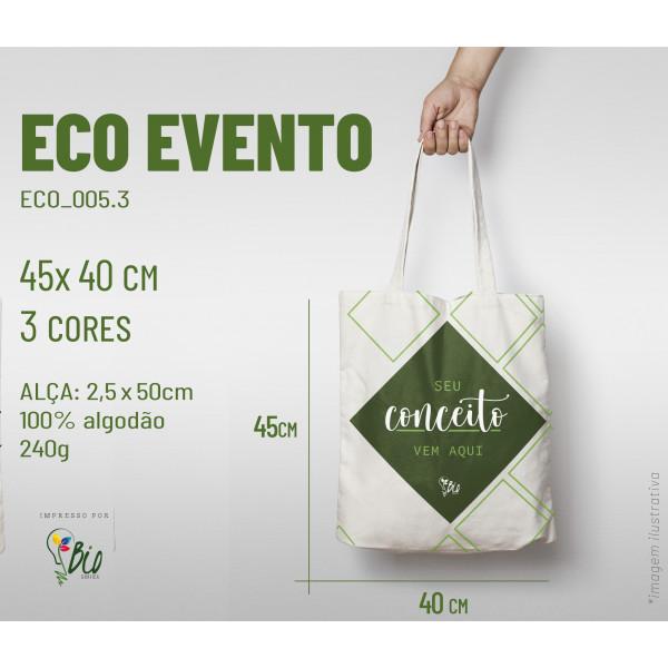 Ecobag Evento 40x45, 3 cores