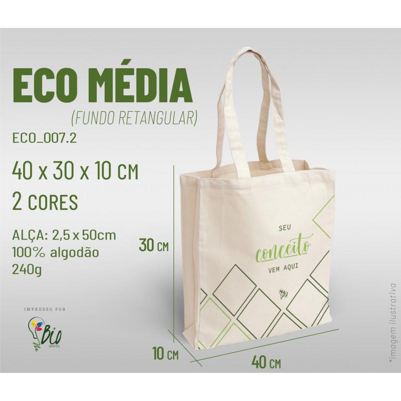 Ecobag Média 40x30x10, 2 cores