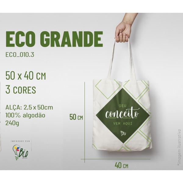 Ecobag Grande 40x50, 3 cores