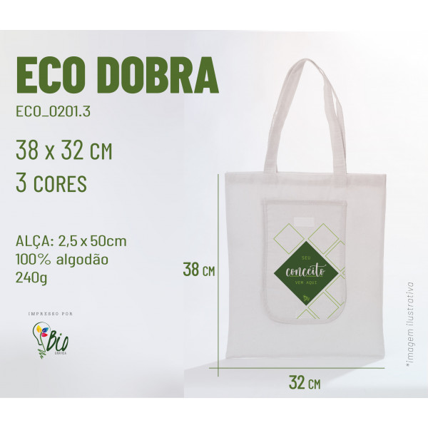 Ecobag Dobra 42x38, 2 cores