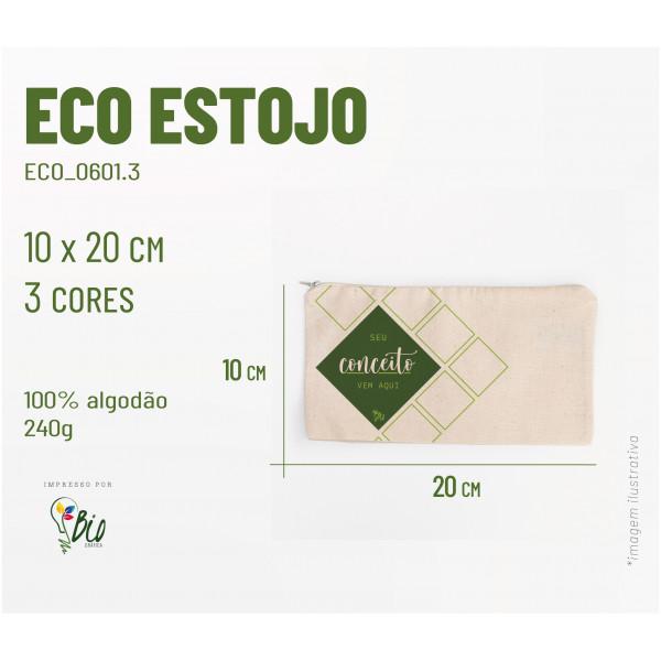 Eco Estojo 20x10, 3 cores