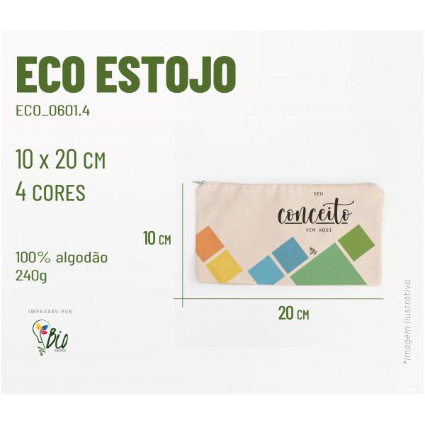 Eco Estojo 20x10, 4 cores