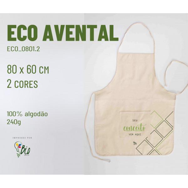 Eco Avental 60x80, 2 cores