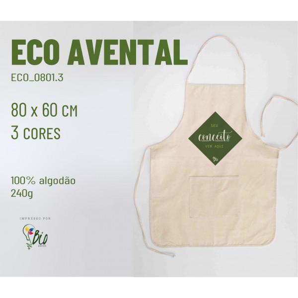 Eco Avental 60x80, 3 cores