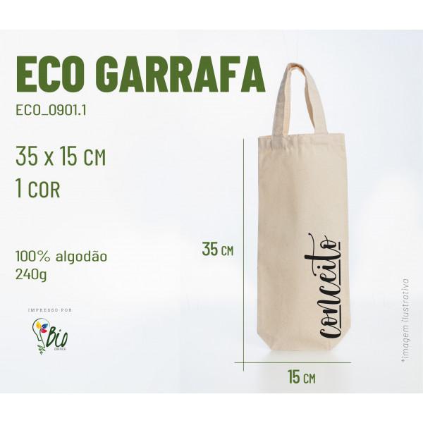 Ecobag Garrafa 15x35, 1 cor