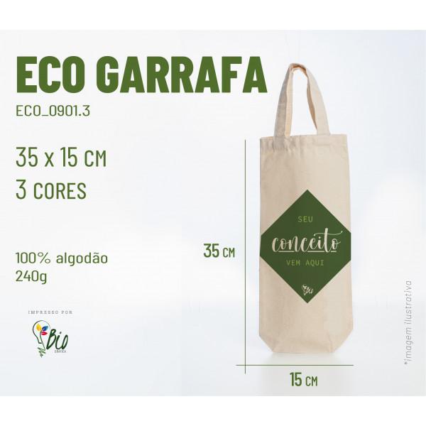 Ecobag Garrafa 15x35, 4 cores