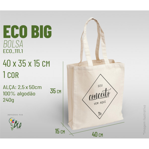 Ecobag Big 40x35x15, 1 cor