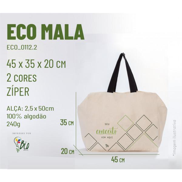 Ecobag Mala 45x35x12, 2 cores