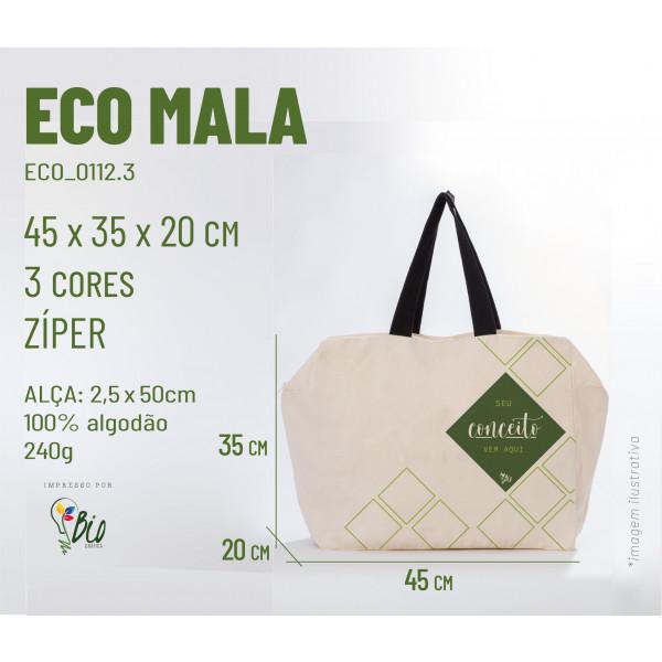 Ecobag Mala 45x35x12, 3 cores