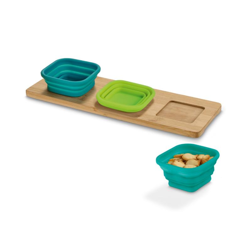 Base de mesa com 3 potes Pickled