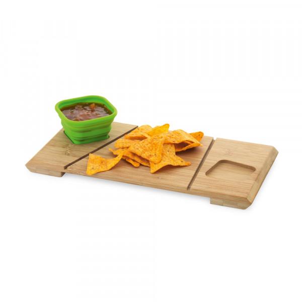 Base de mesa com 2 potes Paprika