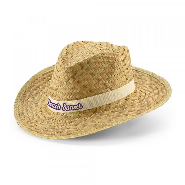 Chapéu Panamá em Palha Natural Escura