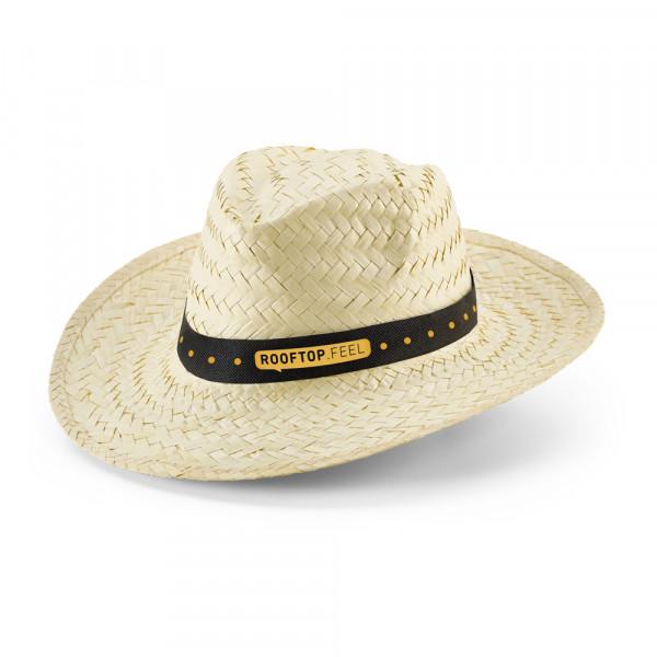 Chapéu Panamá em Palha Natural Clara
