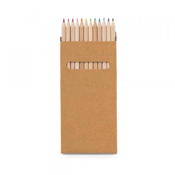 Caixa Lápis de Cor com 12 cores
