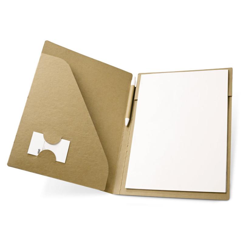 Pasta de Documentos Ecológica em Cartão