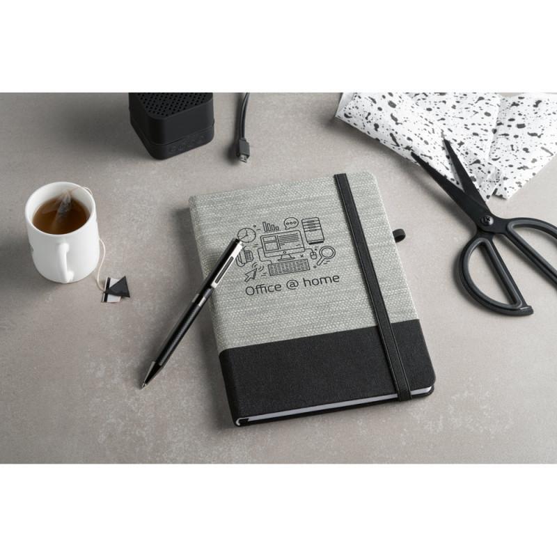 Caderno Ecológico com Capa em Palha e Algodão