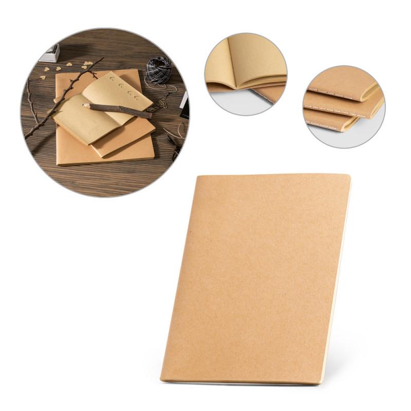 Caderneta Ecológica com Costura Aparente