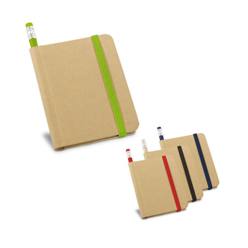 Caderneta Ecológica com Lápis