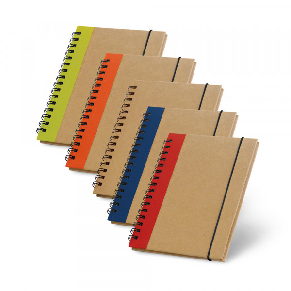 Caderno Ecológico com Elástico