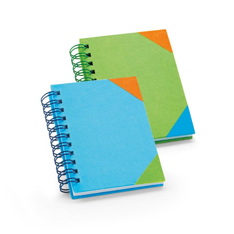 Caderneta para Anotações Capa Dura de Papel