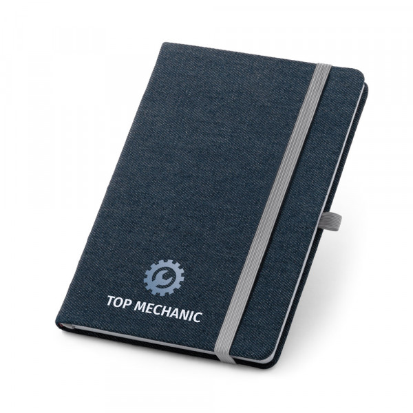 Caderno Ecológico com Capa em Jeans