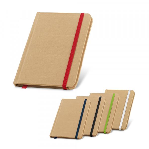 Caderneta Ecológica com Elástico e Fita