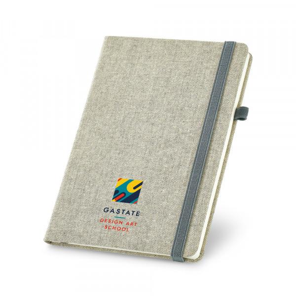 Caderno Ecológico com Capa em Algodão