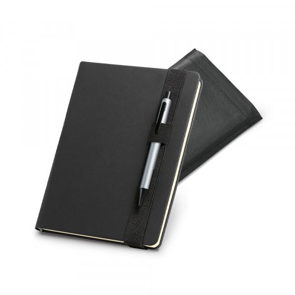 Caderno Funcional Com Elástico para Caneta