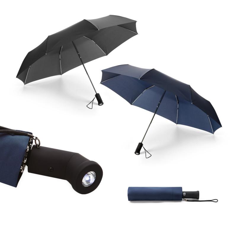 Guarda-chuva Dobrável com Lanterna