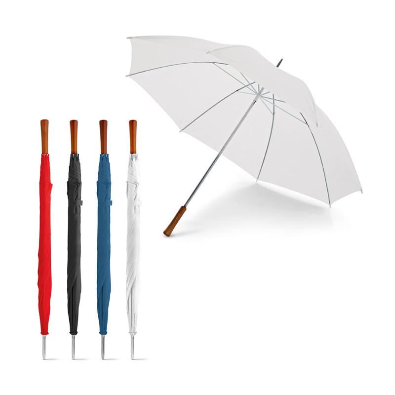 Guarda-chuva de Golfe com pega em Madeira