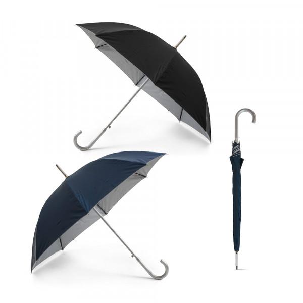 Guarda-chuva em Poliéster e Pega de Alumínio