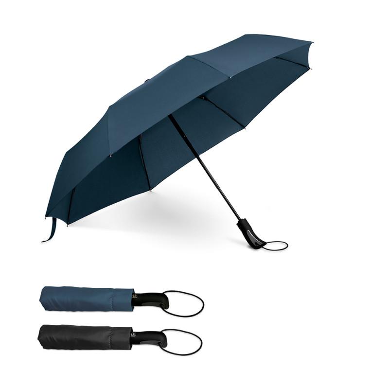 Guarda-chuva Dobrável com Pega Revestida em Borracha