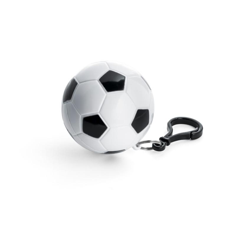Capa de Chuva em Embalagem de Bola de Futebol