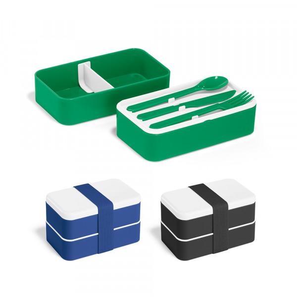 Marmita de Plástico com 2 Compartimentos e Divisória