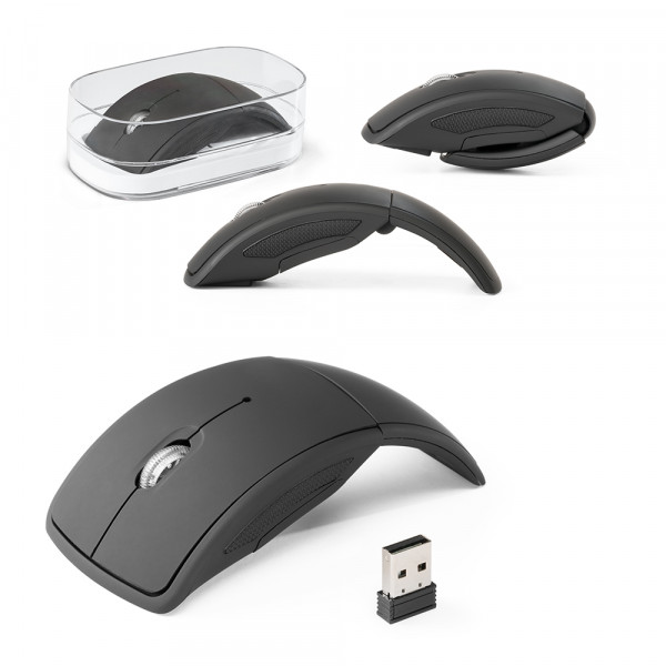 Mouse wireless dobrável Townes
