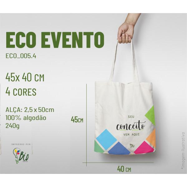 Ecobag Evento 40x45, 4 cores
