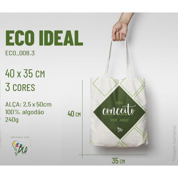 Ecobag Ideal 35x40, 3 cores