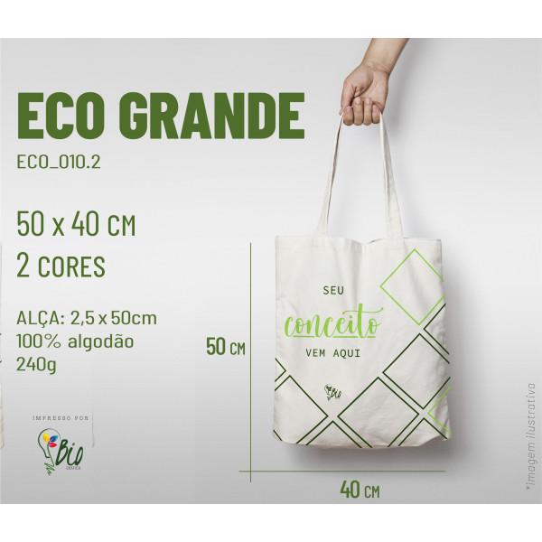 Ecobag Grande 40x50, 2 cores
