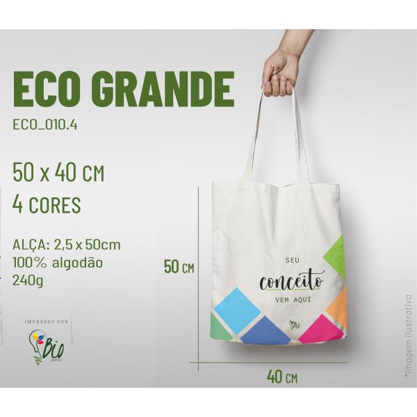 Ecobag Grande 40x50, 4 cores