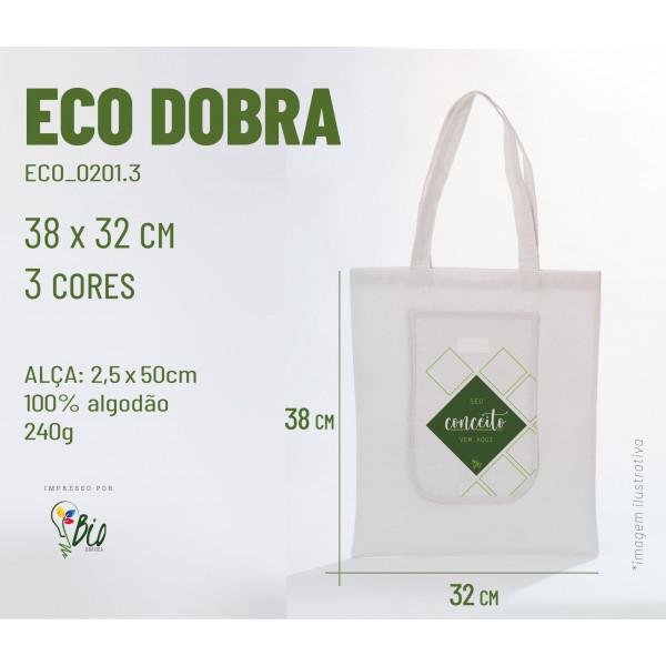 Ecobag Dobra 42x38, 3 cores