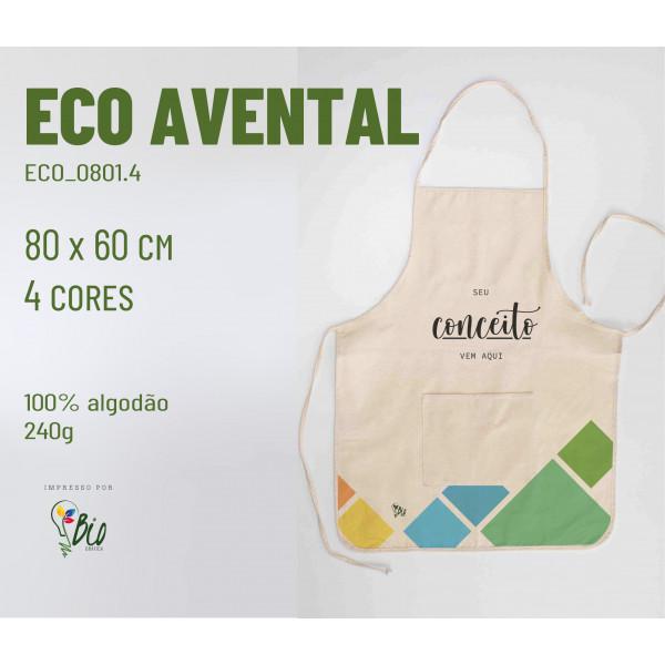 Eco Avental 60x80, 4 cores