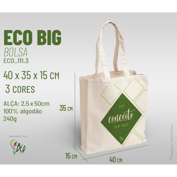 Ecobag Big 40x35x15, 3 cores