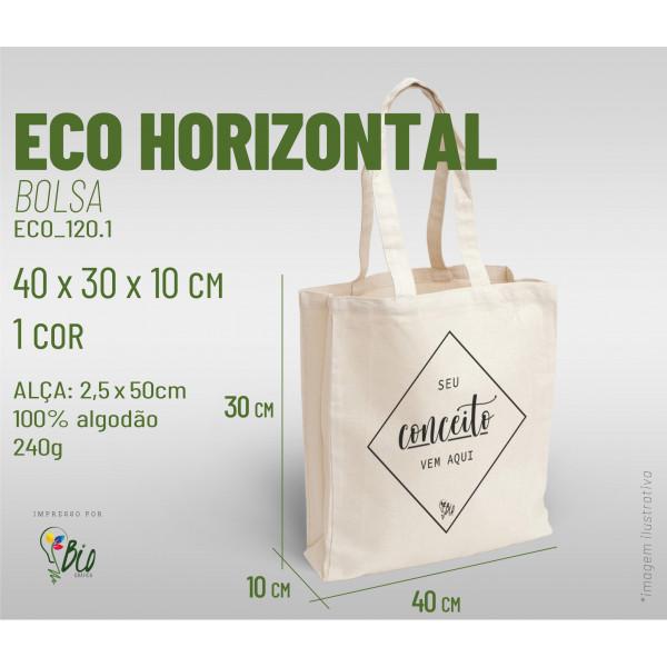 Ecobag Horizontal 40x30x10, 1 cor